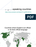 1 English-speaking Countries and Accents