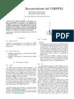 Reconcocimiento del USRP 2920/10 y del PXI