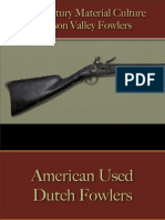 Military - Arms & Accoutrements - Firearms - Fowlers - Hudson Valley