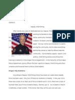 profile of deputy chief eining