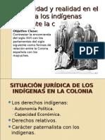 Legalidad y Realidad Indigena en Chile