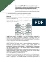 Mapeo Direcciones IP a LOCALES