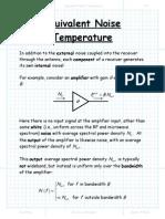 Equivalent Noise Temperature