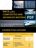 Bmcb 4463 Chapter 1 Introduction to Composite Materials