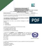 Examen Formacion Civica y Etica 2 A