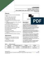l3g4200d datasheet