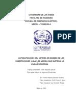 Automatización Del Sistema de Bombeo de Las Subestaciones Aguas de Mérida Que Surten a La Ciudad de Mérida