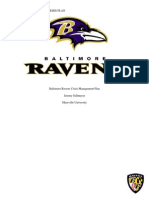 Baltimore Ravens Crisis Management Plan