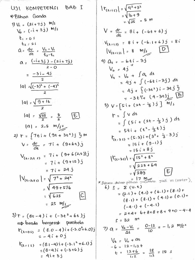 Kunci Jawaban Fisika Xi Marthen Kanginan 2013