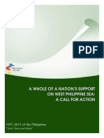 A WHOLE OF A NATION'S SUPPORT ON WEST PHILIPPINE SEA