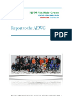 Report to the AEWG