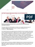 ESTRATEGIAS INNOVADORAS DE INTERVENCIÓN