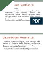 Kuantitatif, kualitatif dan tindakan # 4,5.ppt