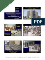 Normas de diseño de edificaciones con muros de ductilidad limitada
