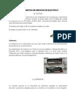 Instrumentos de Medición de Electrica