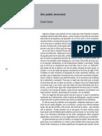Eladio Dieste - Arte, Pueblo, Tecnocracia