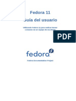 Fedora 11 User Guide Es ES