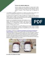 Sangre Artificial de Cordón Umbilical Hematologia