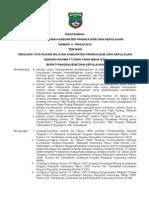 Rancangan Perda Rtrw Kab.pangkep 2012