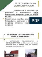 Materiales de Construccion y Norma.
