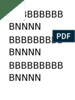 Bb Bb Bbbbbb Nnnn