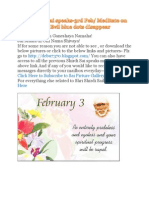 Shri Shirdi Sai Speaks for 3rd Feb 2010