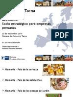 Alemania - Socio Estratégico Para Empresas Peruanas - Sr. Jan Patrick Häntsche