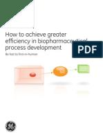 Greater Efficiency in Process Development
