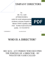 Role of Company Directors