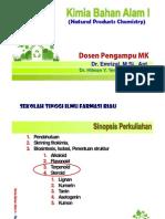 Kuliah 4. Terpenoid - Steroid