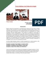 El Anarquismo de Emma Goldman y Los Límites de La Utopía