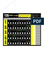 T25 Alpha Phase Calendar