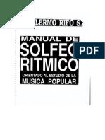 Manual de Solfeo Ritmico - Guillermo Riffo