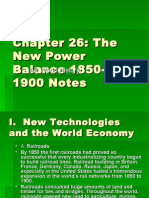 Chapter 26 history Notes