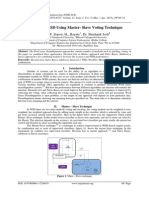 Supervised WSD Using Master- Slave Voting Technique