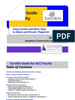 Turnitin Guide for Instructors