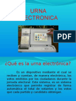URNA ELECTRONICA