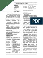 Reglamento de Estab. de Salud y Serv. Médicos de Apoyo