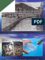 Canales, Abastecimiento de Agua y Sistemas De