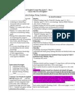33  pre-ap english 9 lesson plan april 27-may 1
