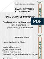 Base de Datos Expo