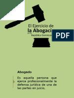 Ejercicio de La Abogacia en La Rep. Dom. (Aneudy Cruz)