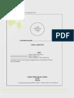 Panduan PKM Tahun 2012 - Format Laporan Akhir