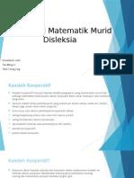 Intervensi Matematik Murid Disleksia