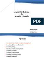 Oracle Inventory Shital