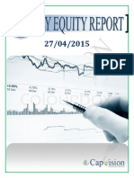 Daily Equity Report 27-04-2015