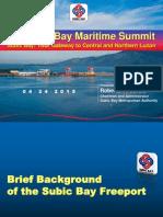 SBMA_Chairman_Roberto_Garcia_2nd Subic Bay Maritime Summit Final