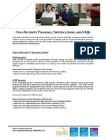 Cisco Security Training and FAQs
