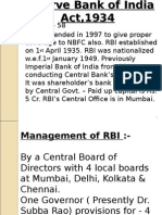 Reserve Bank of India Act,1934