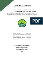 Angkot Kota Pekanbaru Wilayah Pasar Kodim Kecamatan Senapelan